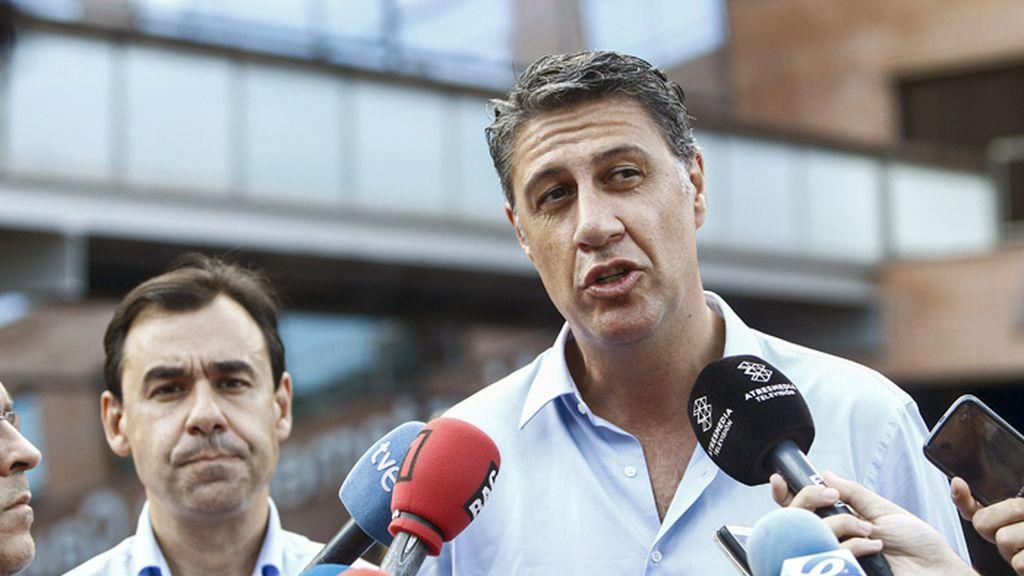 Fernando Martínez-Maillo y Xavier García Albiol visitan Gavá