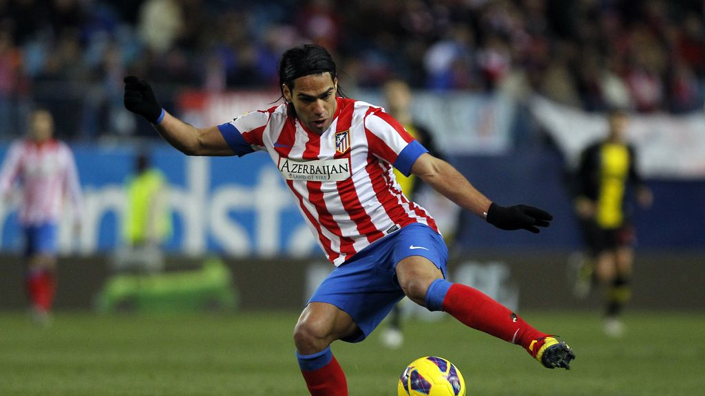 Falcao, Atletico Madrid