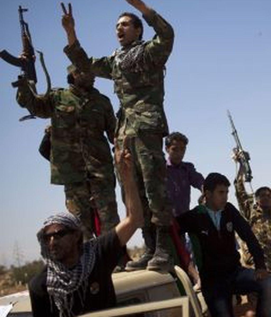 Los rebeldes libios aseguran que se quedan sin dinero. Foto: Gtres.