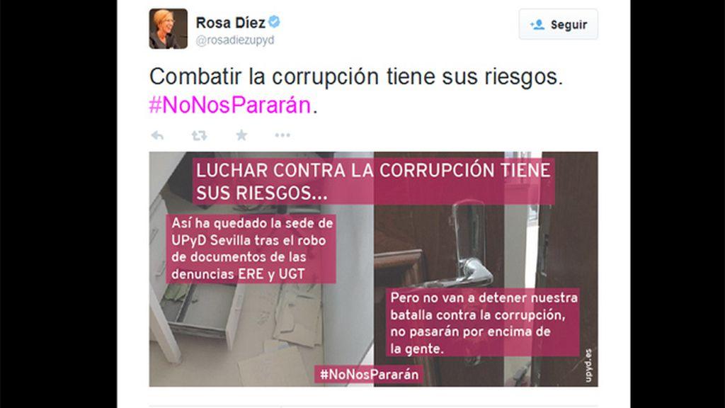 UPyD denuncia el robo en su sede de Sevilla de documentación sobre los casos ERE y UGT