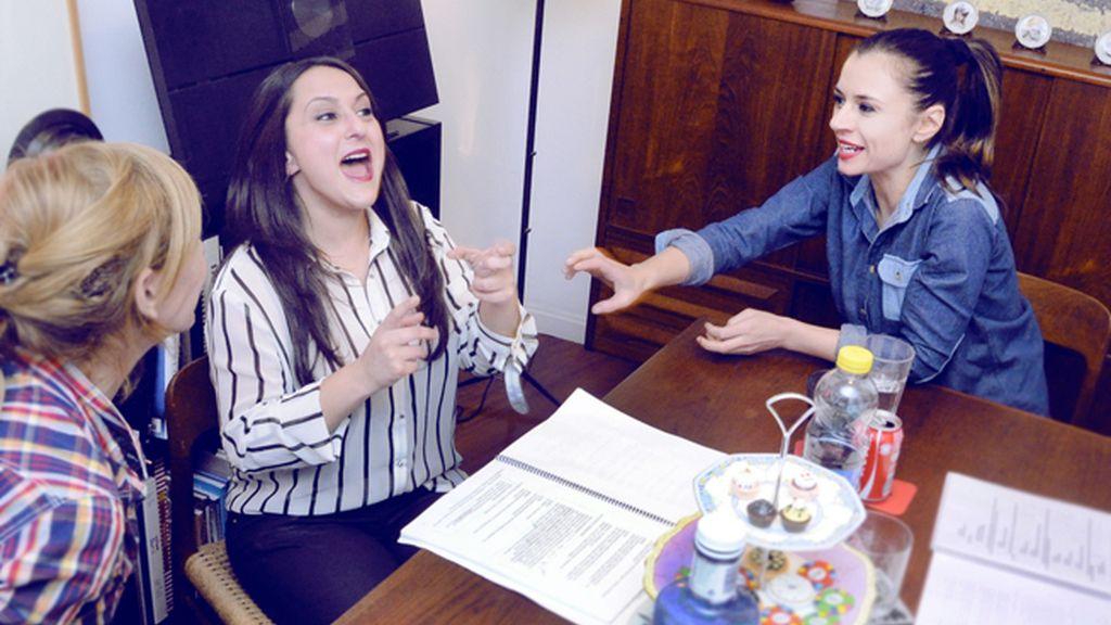 Pepa Rus y Miren Ibarguren mostraron una gran complicidad