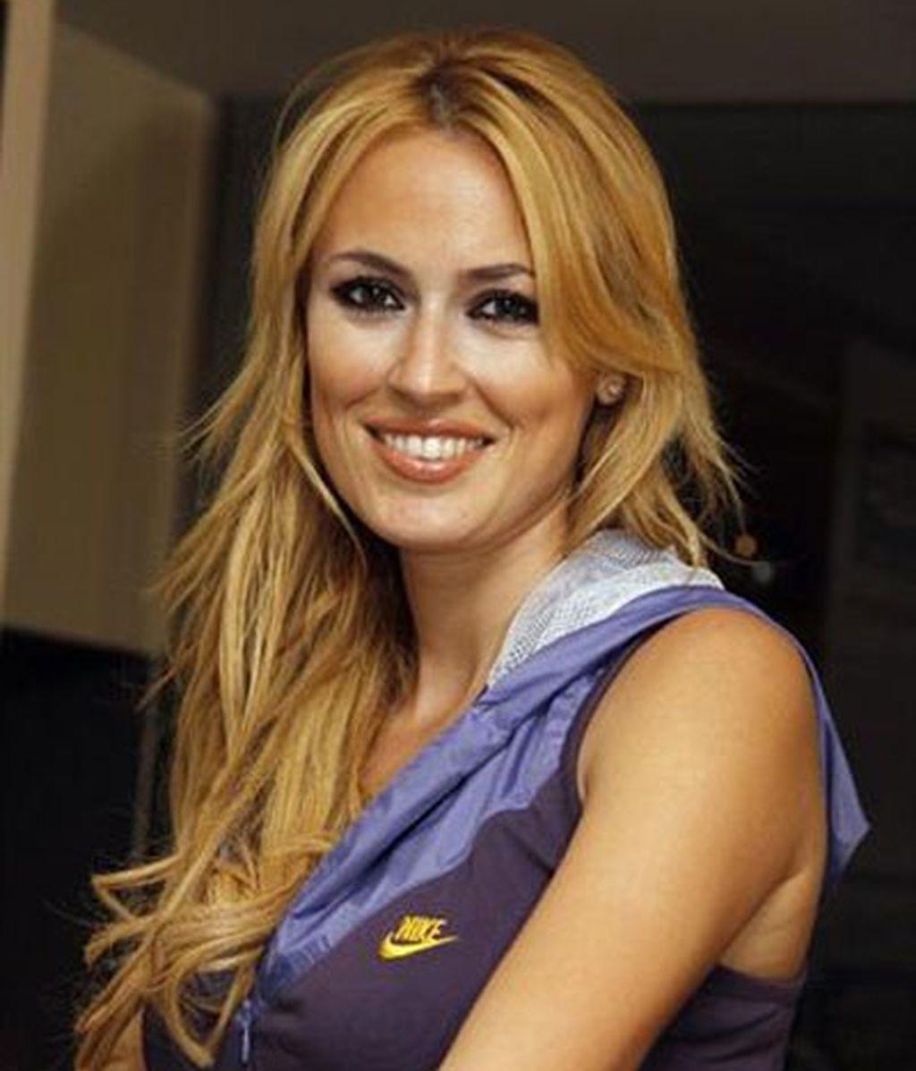 Carolina Cerezuela, compañera de Carlos Moyá