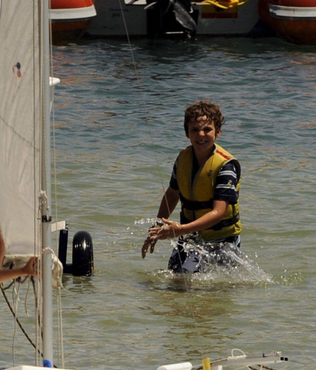 Froilán quiere ser marinero