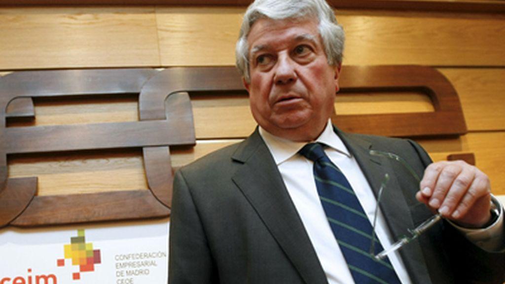 arturo fernández, vicepresidente de la CEOE, en una imagen de archivo