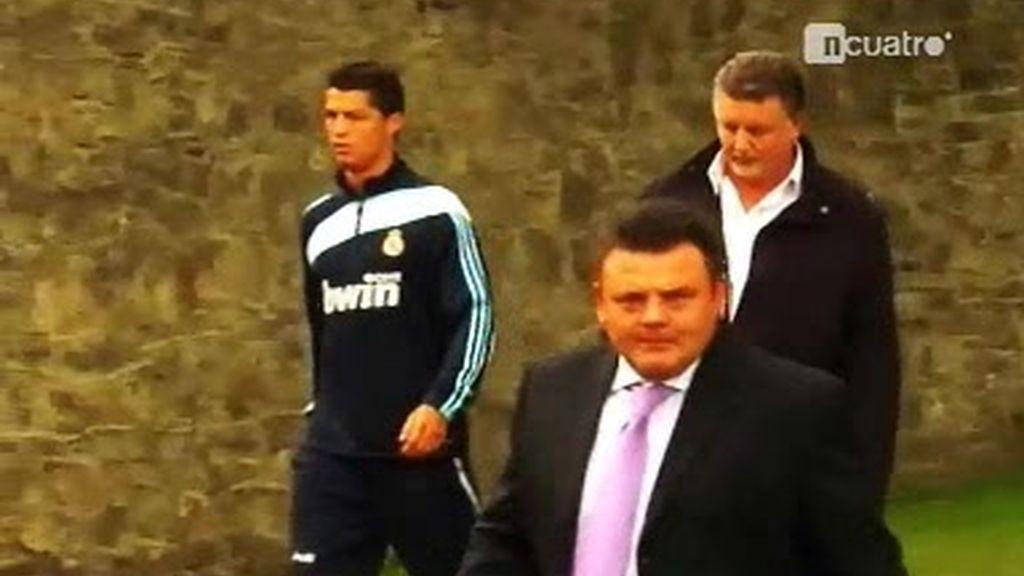 Derek, la sombra de Cristiano Ronaldo