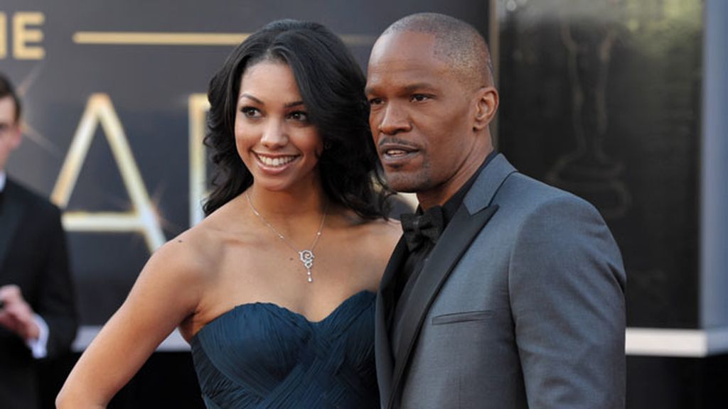 Corinne Bishop y Jamie Foxx