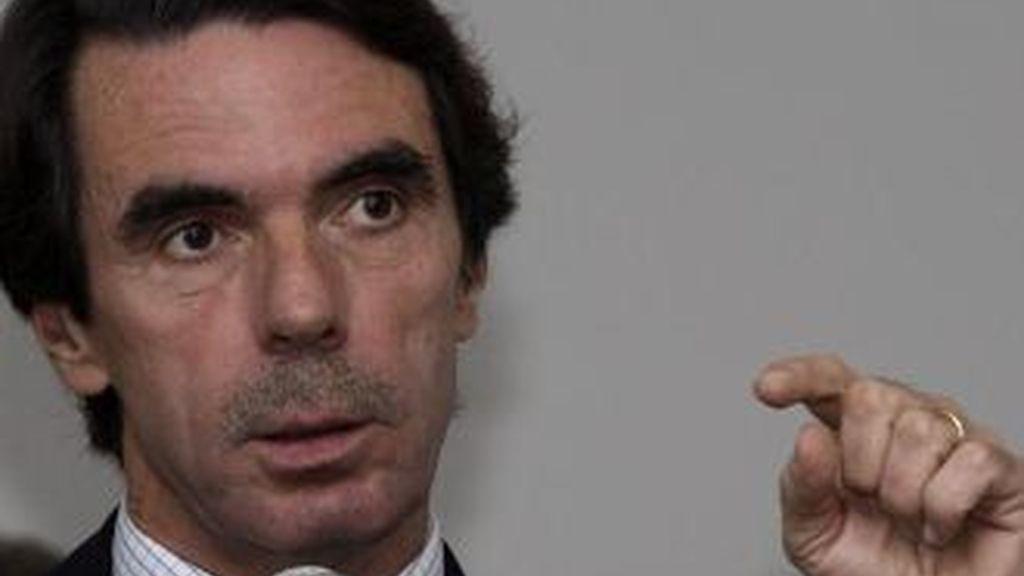 José María Aznar, ex presidente del Gobierno, el nuevo fichaje de Endesa. Foto archivo EFE