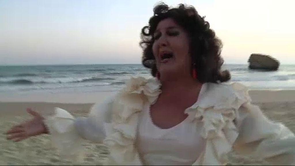 Vicky Aranda homenajea a Lola Flores