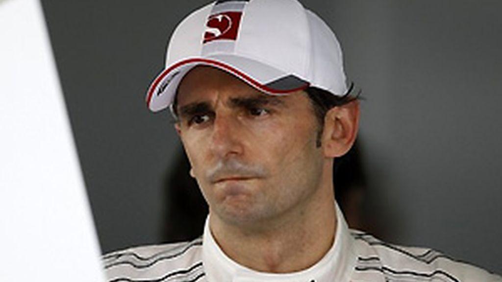 De la Rosa, durante el pasado Gran Premio de Bahrein. FOTO: Archivo.