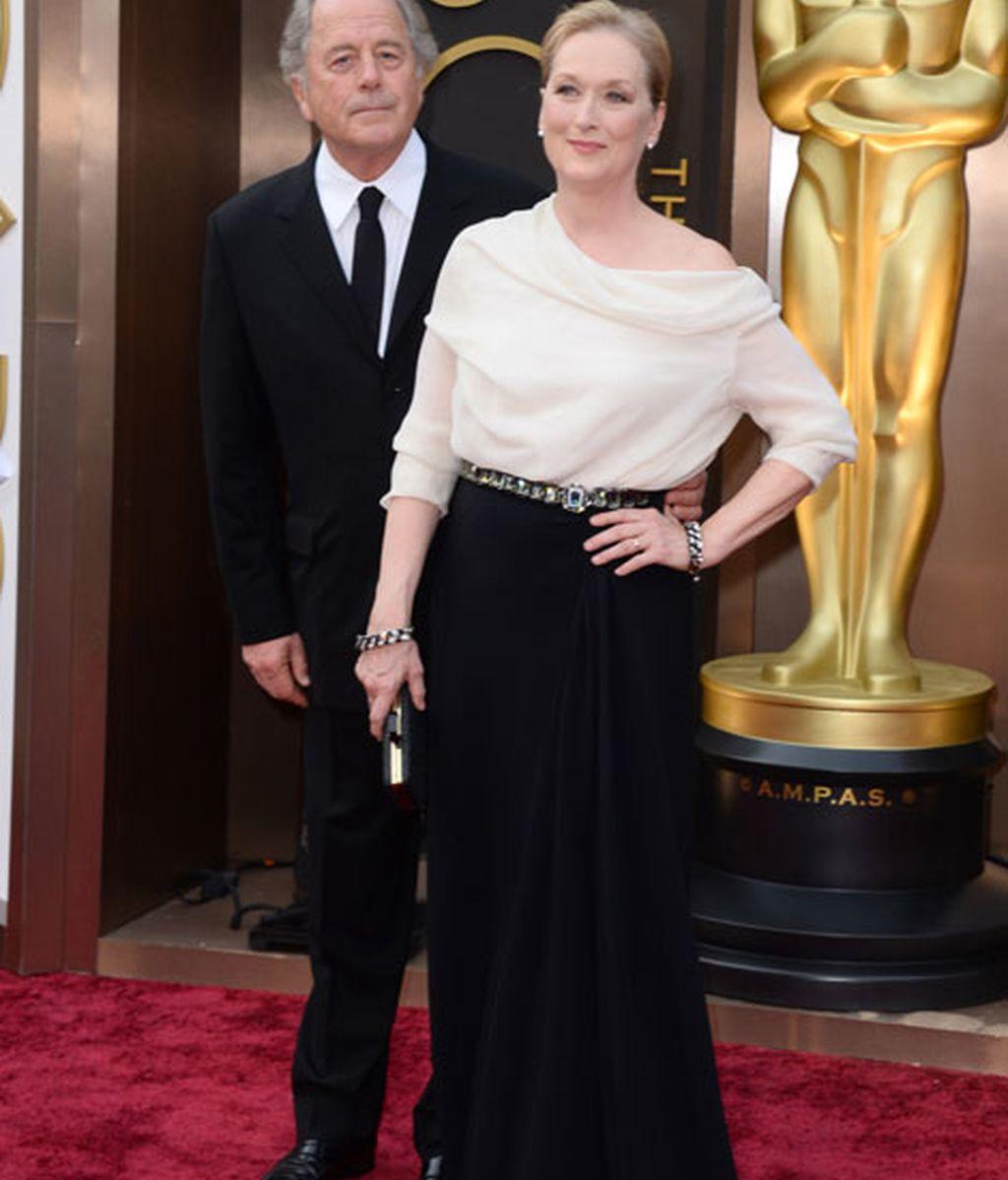 Don Gummer y Meryl Streep, ella de Lanvin