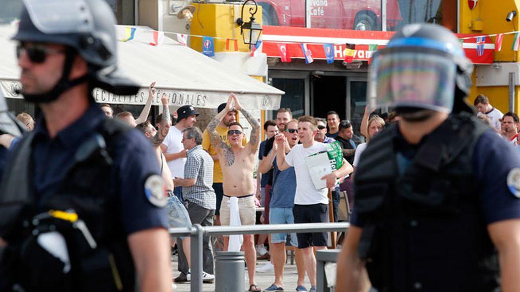 Varios hinchas han sido detenidos