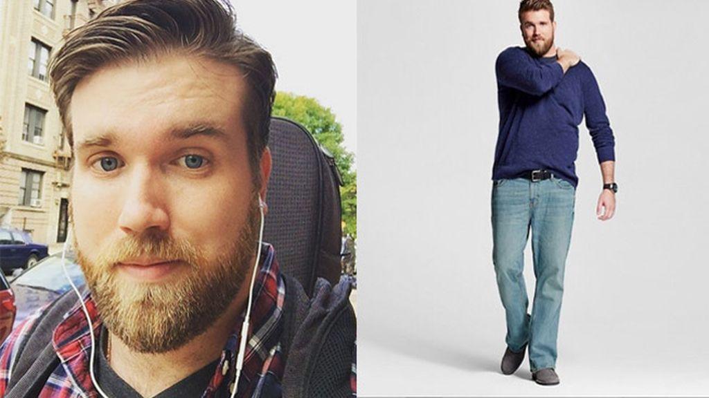 Zach Miko, el primer modelo masculino XL