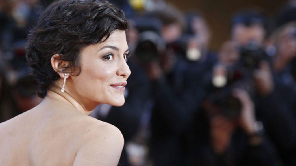 Audrey Tatou deslumbra en Cannes