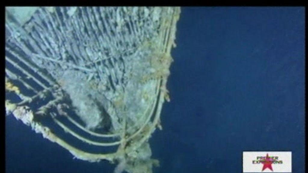 Nuevas imágenes del Titanic