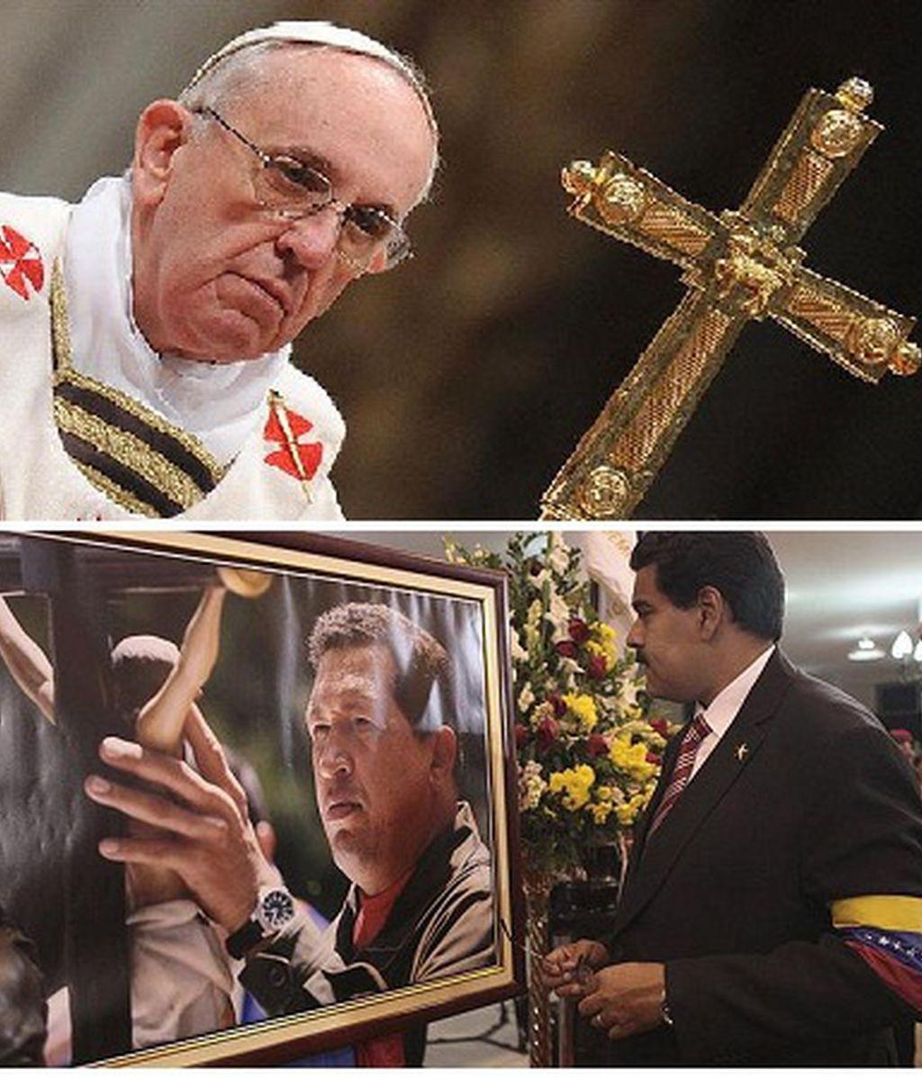 Maduro visita al Papa Francisco en el Vaticano