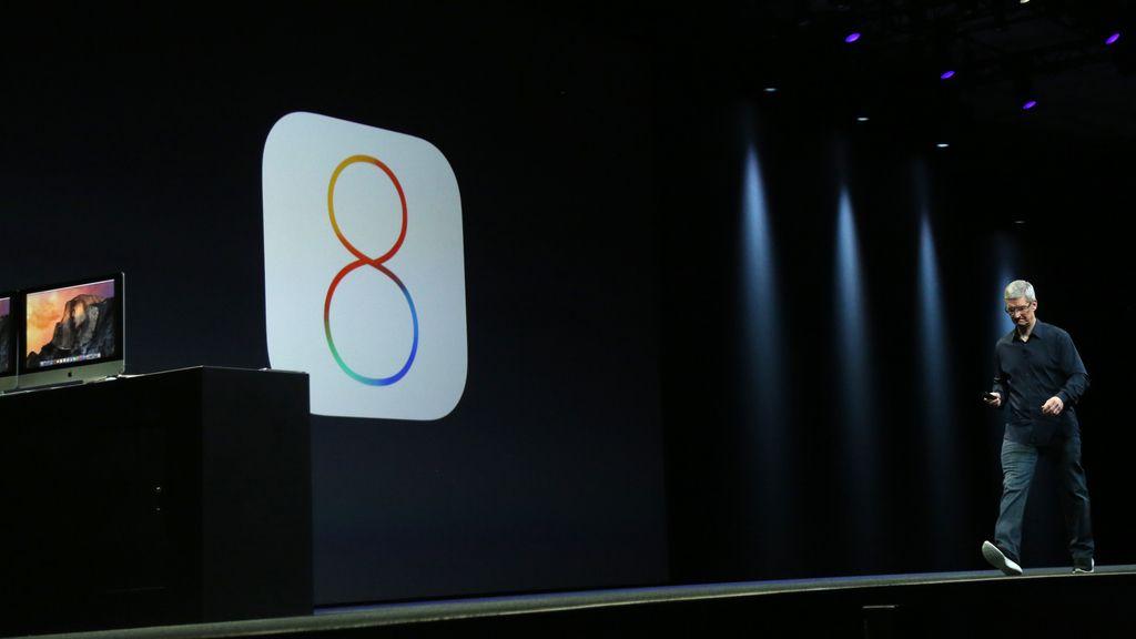 Presentación de iOS 8