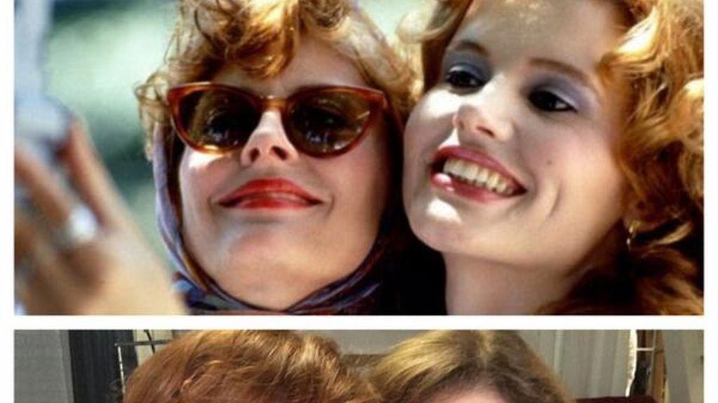 """Thelma y Louis las creadoras del """"selfie"""""""