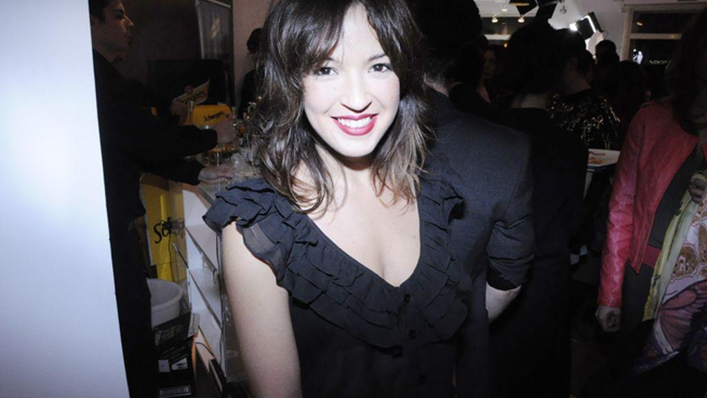 Verónica Sánchez también lució un look de la firma Lavand
