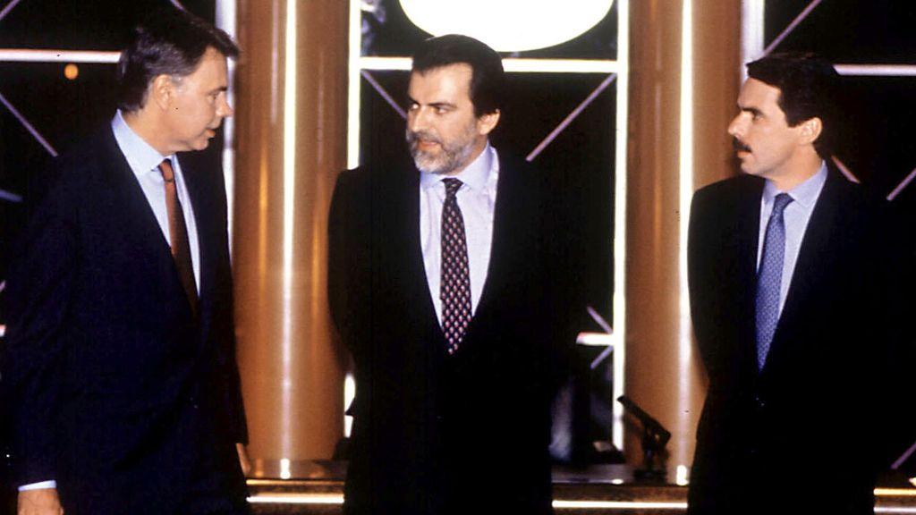 El debate decisivo: Felipe González y José María Aznar (1993)