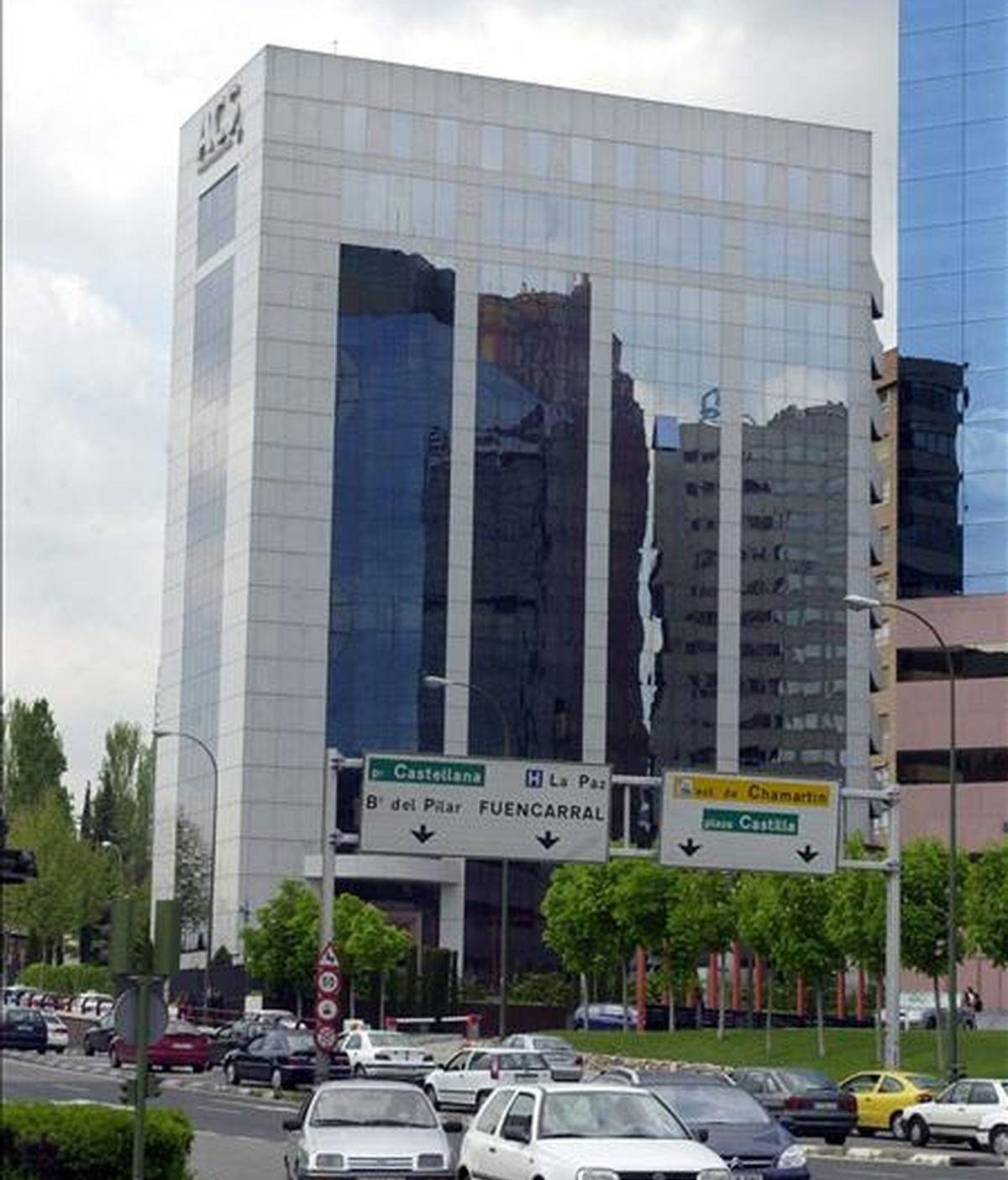 La sede de ACS en Madrid. EFE/Archivo
