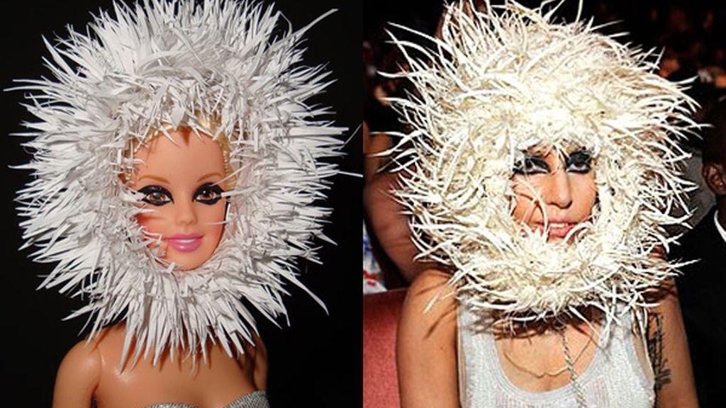 Lady Gaga se convierte en Barbie