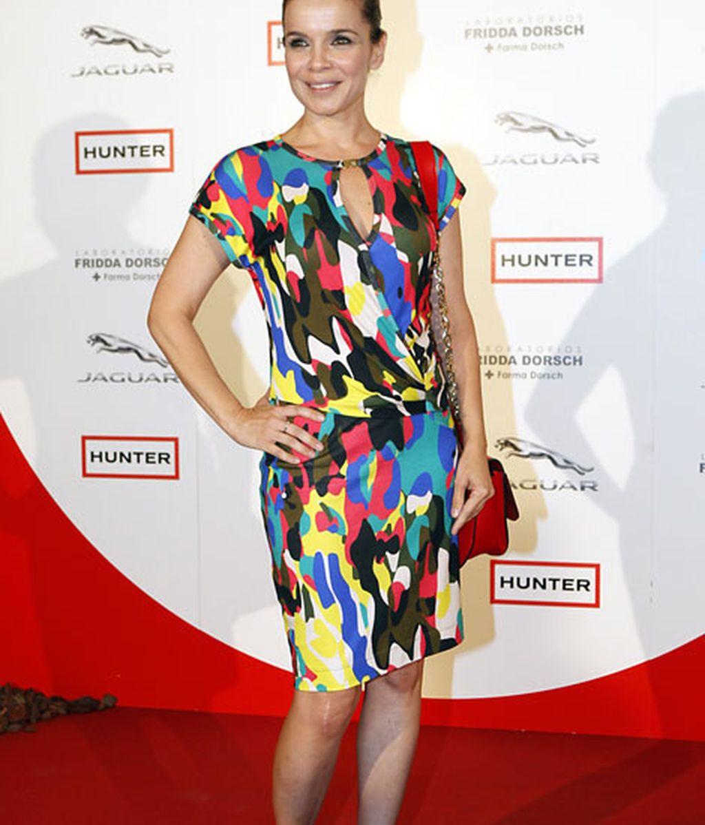 La presentadora de Informativos Telecinco, Carme Chaparro, asistió a los premios