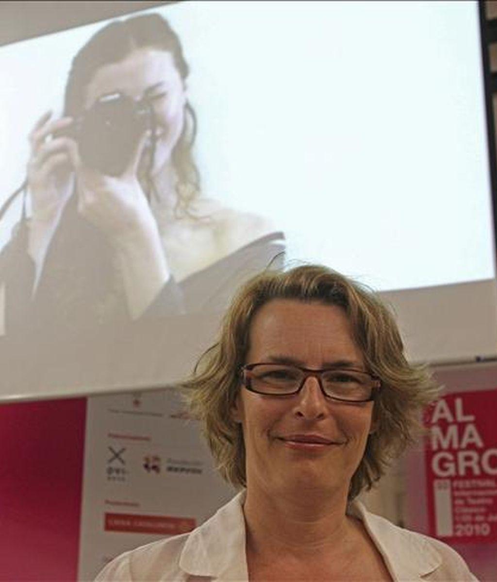 La directora del Festival Internacional de Teatro Clásico de Almagro, Natalia Menéndez. EFE/Archivo