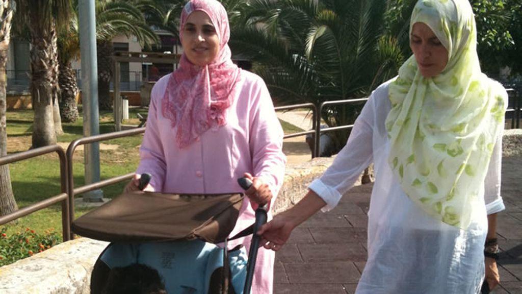 Adela, compartiendo el día a día con una familia musulmana