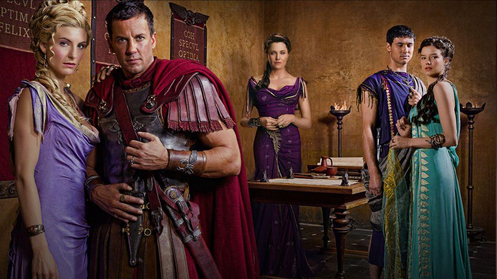Un elenco internacional para la nueva temporada de 'Spartacus'