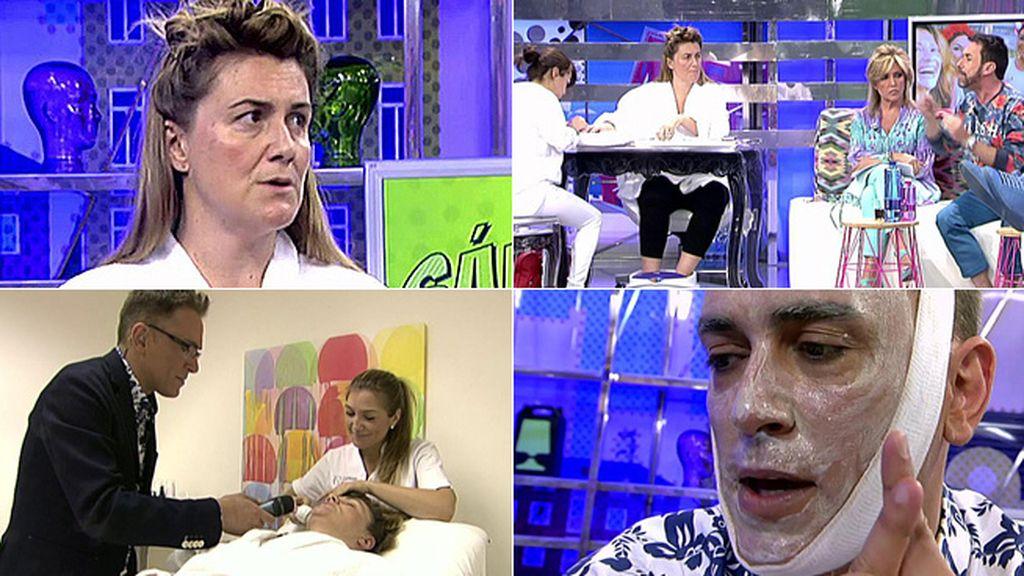 Carlota Corredera preparaba su aparición en el 'Deluxe' y Hernández aprovechaba