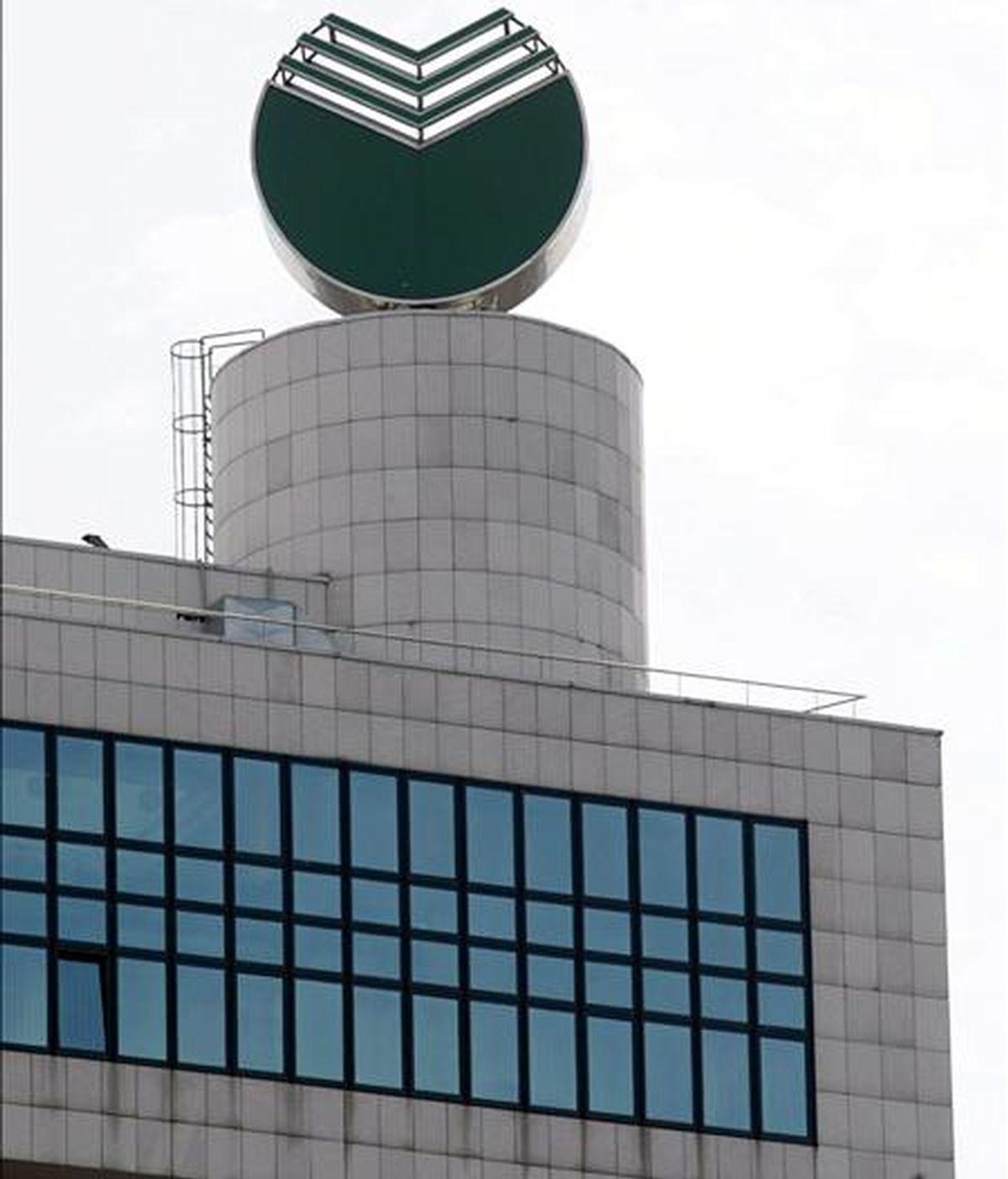 Logotipo del banco ruso Sberbank. EFE/Archivo