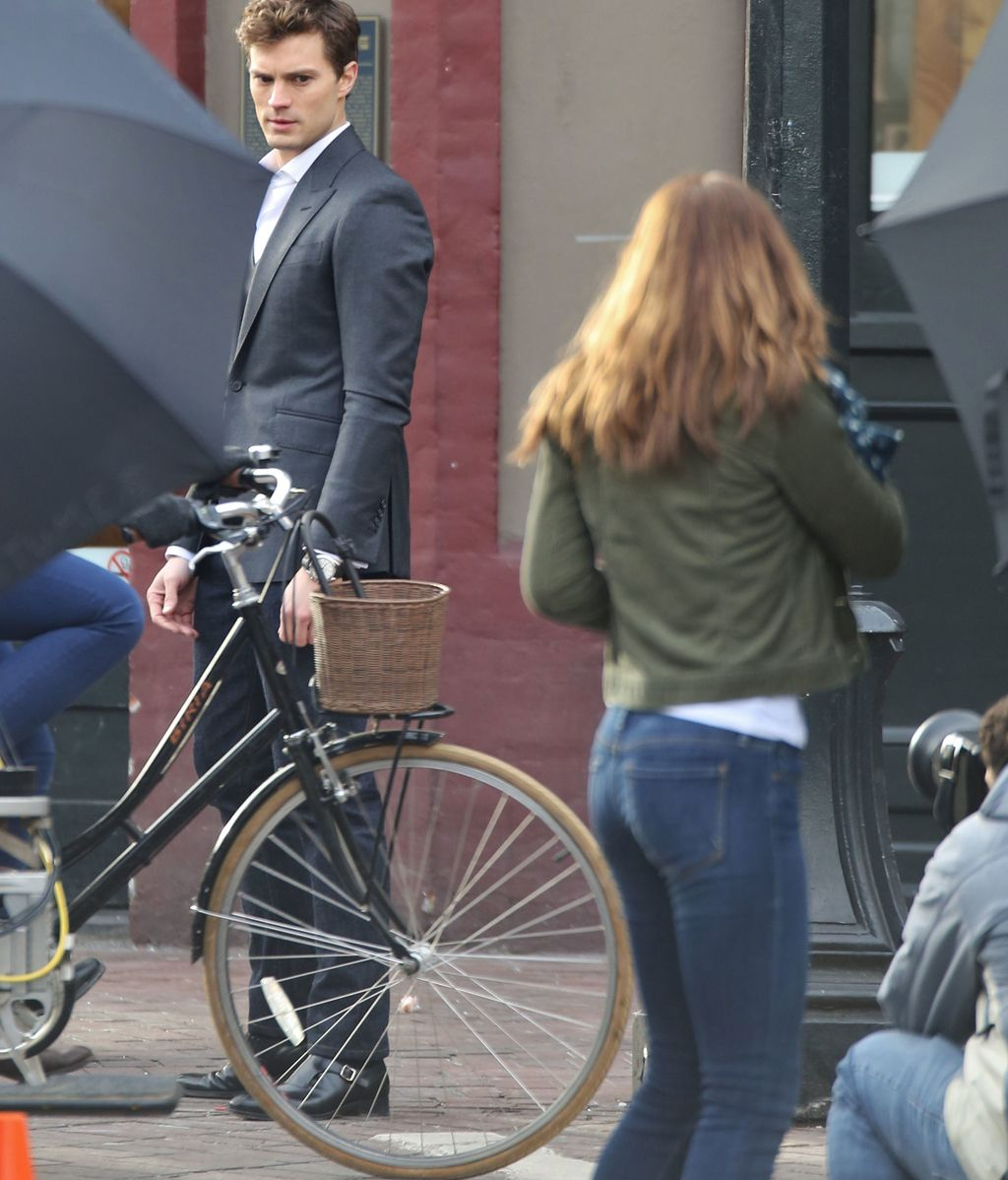 El rodaje de '50 Sombras de Grey' en imágenes