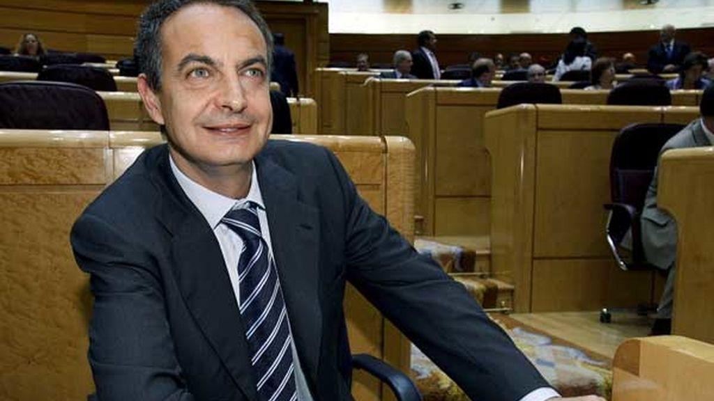 Primer cara a cara de Zapatero y Rajoy