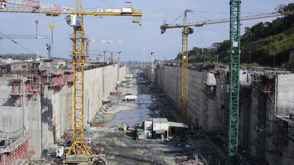 Obras de ampliación del Canal de Panamá a cargo del grupo liderado por Sacyr