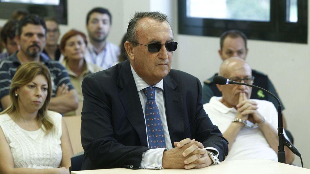 Carlos Fabra, declara ante el juez por el caso Naranjax