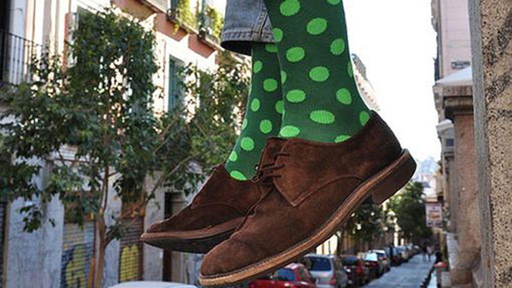 calcetines verdes