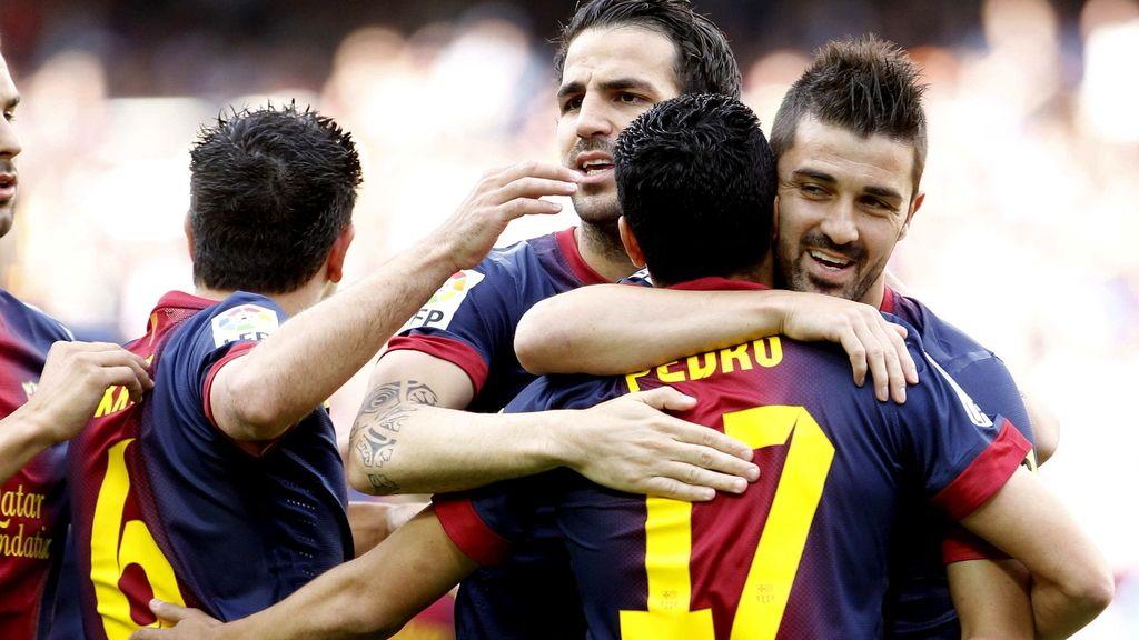 El FC Barcelona iguala los 100 puntos del Real Madrid y bate su récord goleador