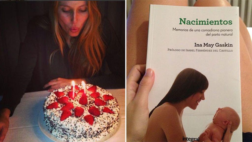Lecturas para preparar el parto y fiesta de cumpleaños de su padre