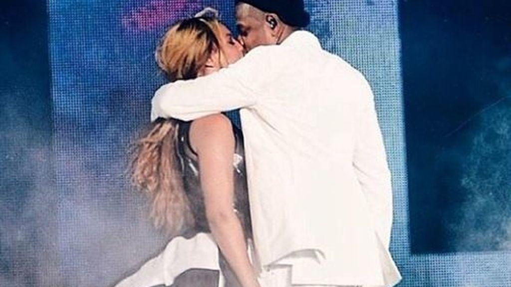Beyoncé y Jay-Z en los BET Awards