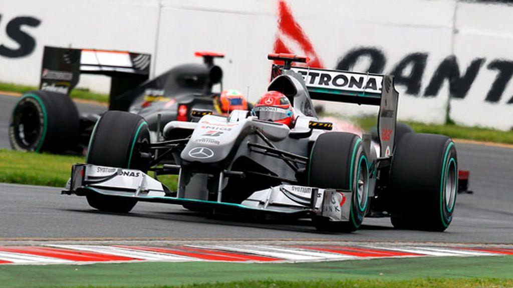 Schumacher, en los terceros libres