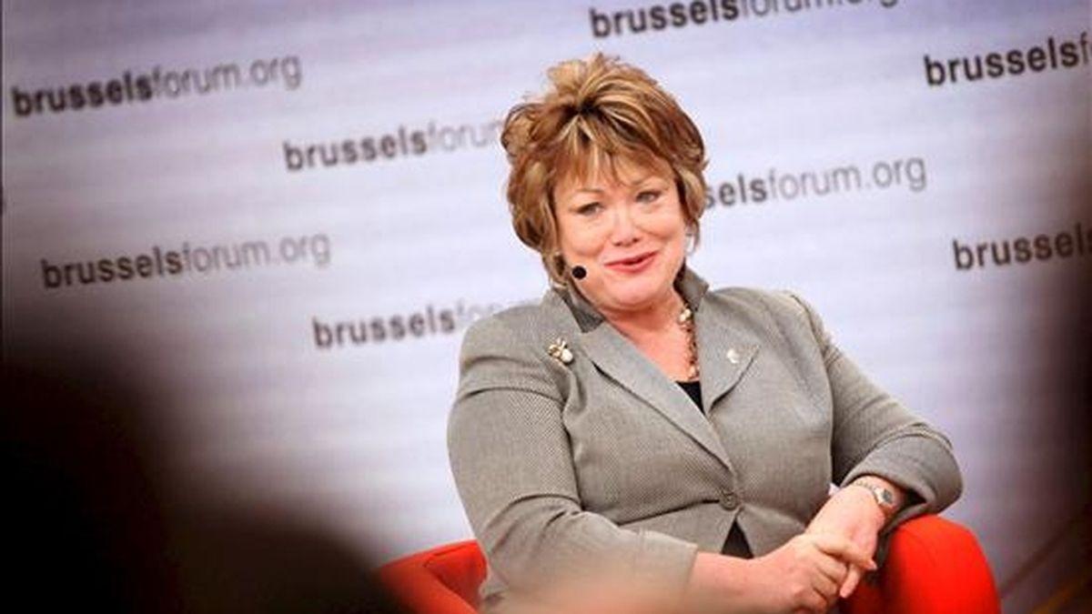 """La subsecretaria de control de armas, Ellen Tauscher, declaró: """"Este es un nuevo trato para la región de Oriente Medio y los Estados Unidos celebra y aplaude la decisión de los EAU"""". EFE/Archivo"""