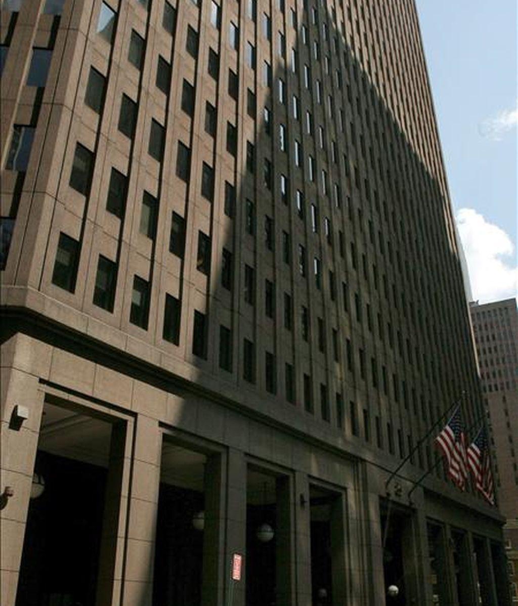 Imagen de archivo de las oficinas centrales de la firma inversora Goldman Sachs en Nueva York. EFE/Archivo