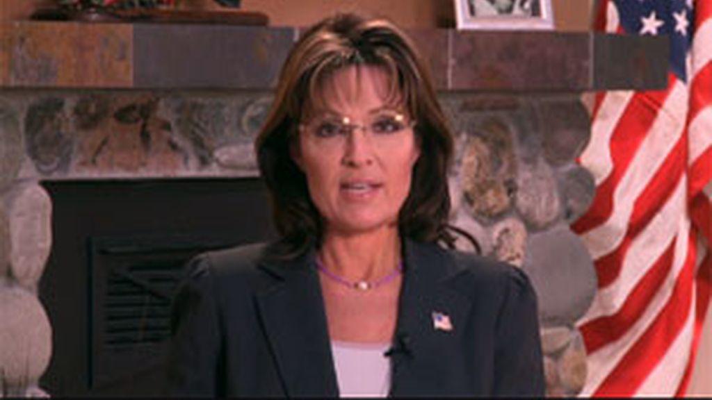 La ex gobernadora de Alaska y ex candidata a la vicepresidencia de Estados Unidos, Sarah Palin. Foto: Facebook.
