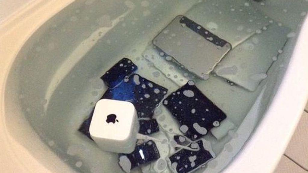Destruye todos los dispositivos Apple de su novio para vengarse de su infidelidad