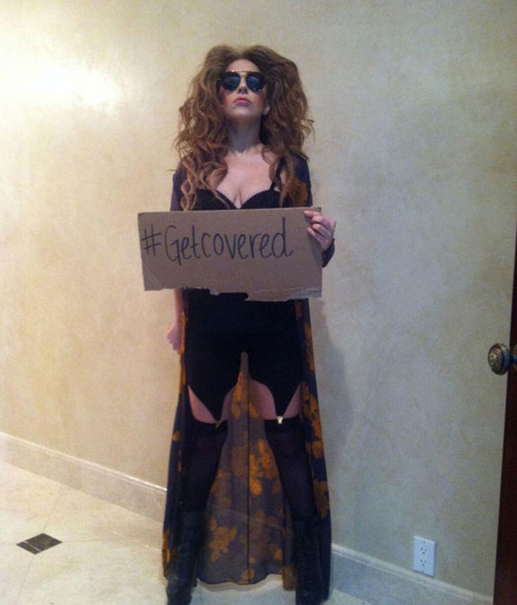 Lady Gaga #Obamacare