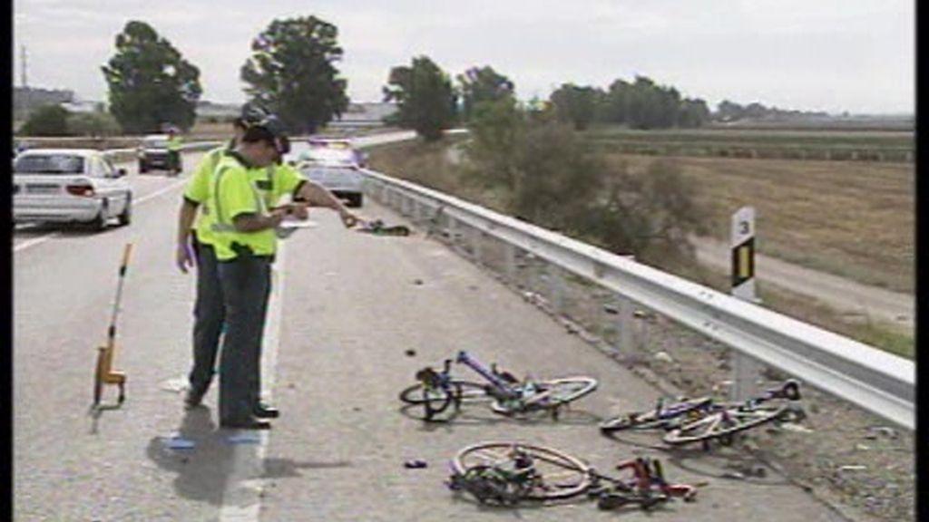 Tragedia ciclista