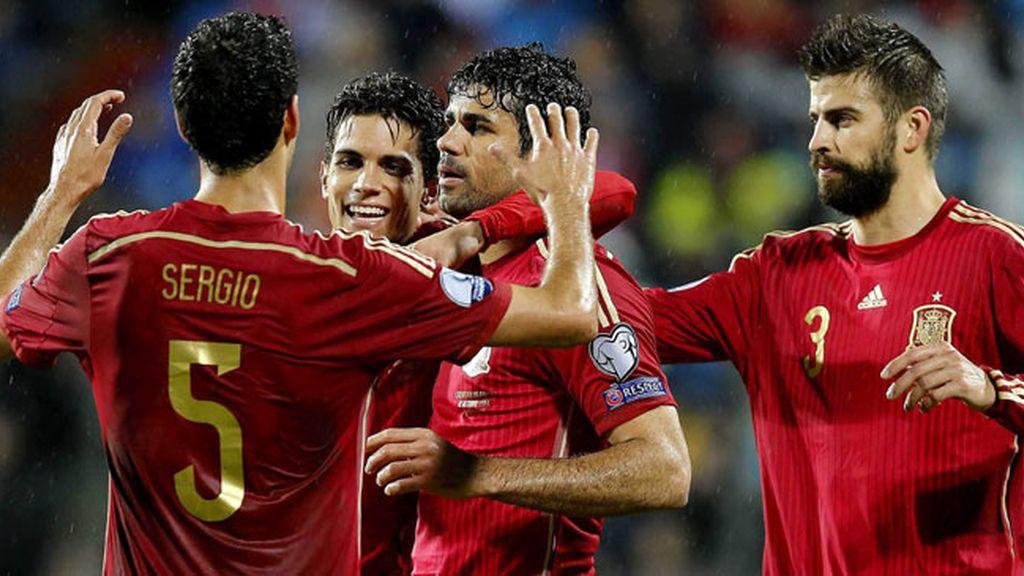 España se desquita con Luxemburgo