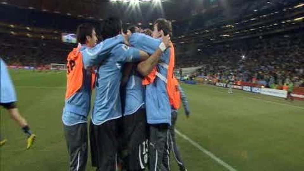 Cuartos: Uruguay 1 - 1 Ghana (4-2)
