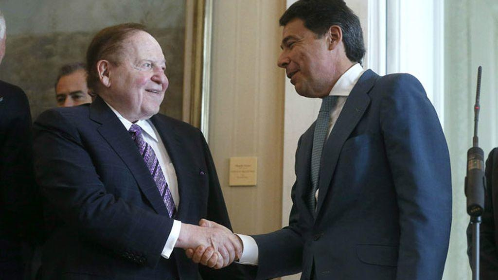 Adelson en Madrid para cerrar el proyecto Eurovegas