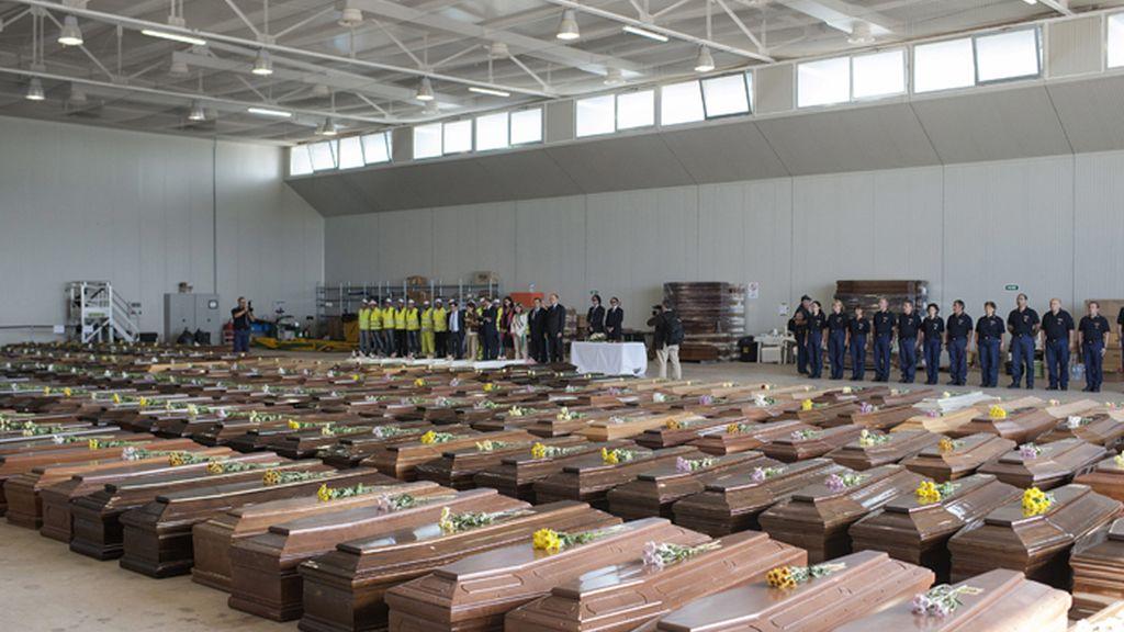 Visita de Barroso y Letta a Lampedusa